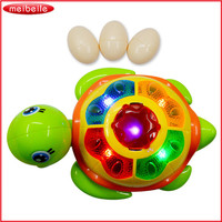 電気ユニバーサルカメパズル教育おもちゃは卵を産む軽音楽子供の教育おもちゃ