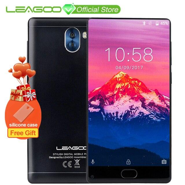 "LEAGOO KIICAA MIX смартфон 7,0 ""дисплей Android mtk6750t восемь ядер 5,5 смартфон 3 ГБ оперативная память 32 ГБ Встроенная спереди отпечатков пальцев"