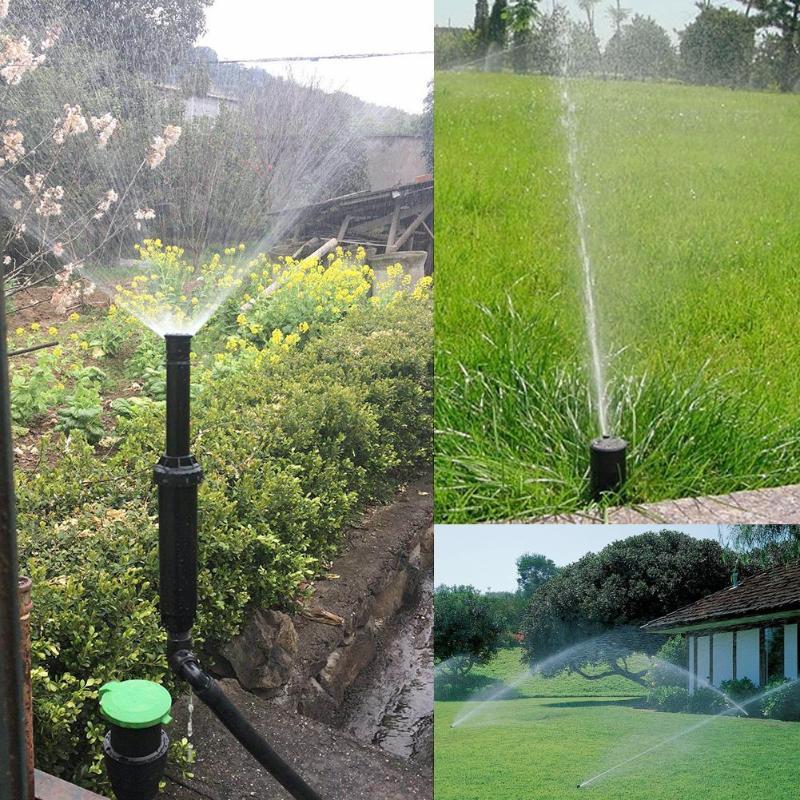 для полива газона разбрызгиватели