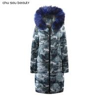 Большой меховой зима новый парки женские Для женщин зимнее пальто из толстого хлопка зимняя куртка Для женщин s верхняя одежда, парки новые