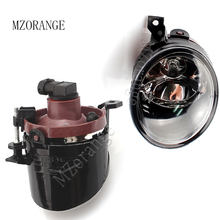 цена на MZORANGE Fog light For Volkswagen For VW Sagitar Jetta 5 Golf 5 GTI MK5 Fog lamps Front Bumper Driving Fog Light Lens