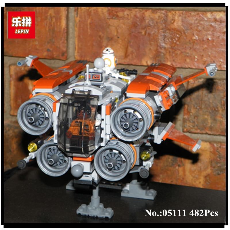 In-Stock 482Pcs 05111 Lepin  Genuine War Series The Jakku Quadjumper Set Children Educational Building Blocks Bricks Toys Model