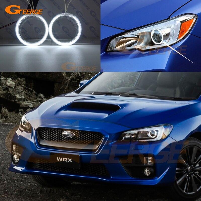For Subaru Impreza WRX sti 2015 2016 2017 Excellent Ultra bright illumination CCFL Angel Eyes kit Halo Ring subaru impreza wrx sti самара продаю