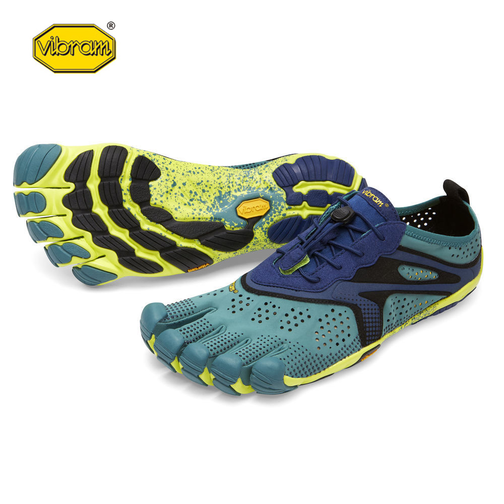 цена Vibram fivefingers V-RUN Hot Sale Design Rubber with Five Fingers Outdoor Slip Resistant Breathable Light weight Shoe for Men онлайн в 2017 году