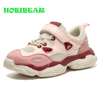 Hot Sale Jogging Walking Girls Shoes Outdoor Flat Kids Sneakers Spring Footwear Children Girls Breathable Running Trainers Girls