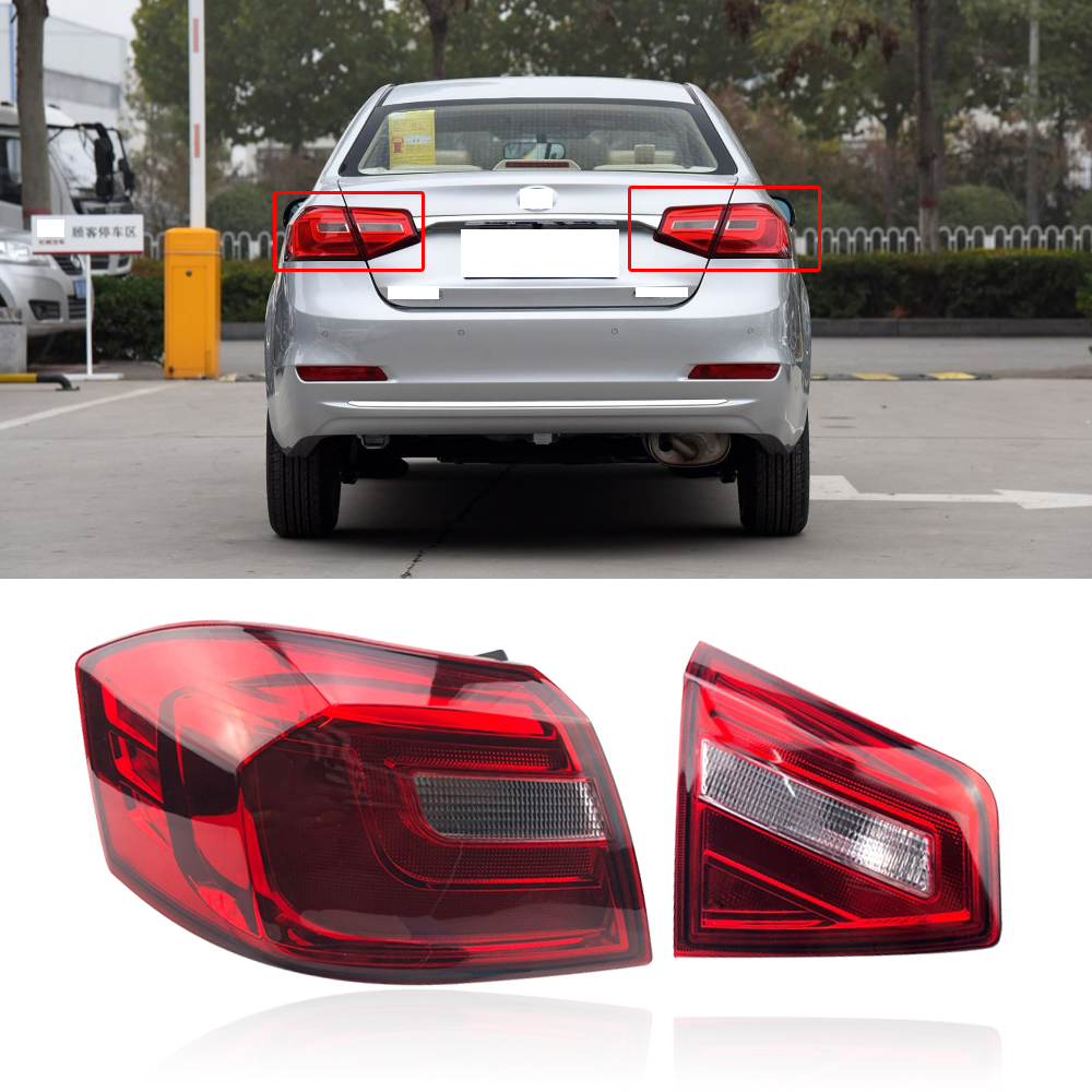 CAPQX For Great Wall Voleex C30 2015 2016 Rear Bumper Taillght Tail Lamp Brake Light Reverse Lamp Parking Stop Warning Lamp