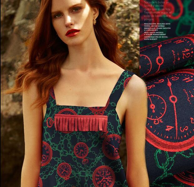 Temps arbre rotatif chaîne japonaise mauvaise marque Jacquard fil teint vêtements profil coton tissu