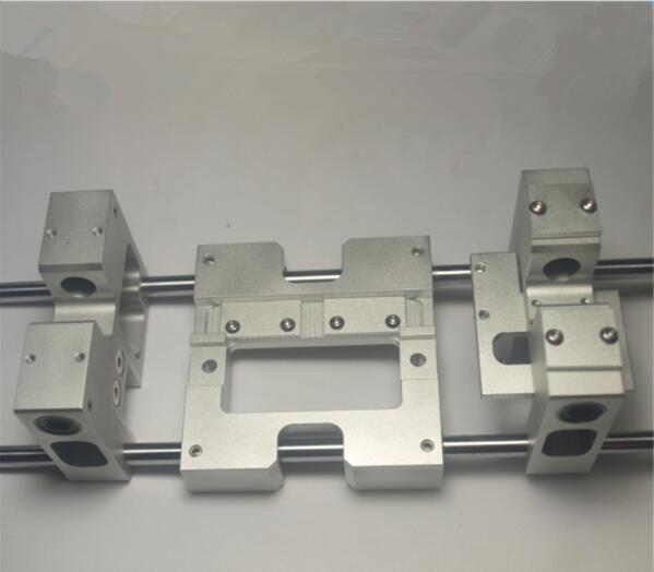 Replicator-3d imprimante en aluminium-mise à niveau-pièces Réplicateur Flashforge Mise À Niveau X axe métallique Extrudeuse Transport + Y axe transport kit