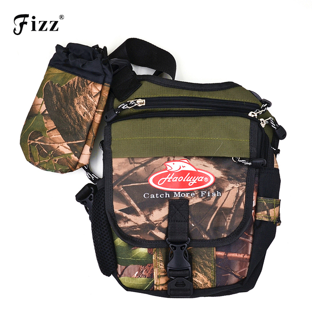 Multifunctional Outdoor Fishing Waist Leg Bag Waterproof Oxford Fishing Tool Accessories Backpack 20x11x24cm Fishing Tackle Bag