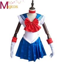 Nuevo Anime de Sailor Moon Cosplay de Halloween Costume Party Girls Vestido de Lujo Por Encargo 10 estilos