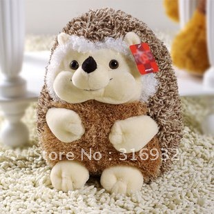 J1 Super cute 23cm hedgehog plush toy doll , good for gift