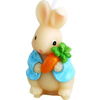 Cartoon Smokeless Scented Candles Cute Carrot Rabbit Children's Party Supplies Creative Birthday Candles Cake Decoration
