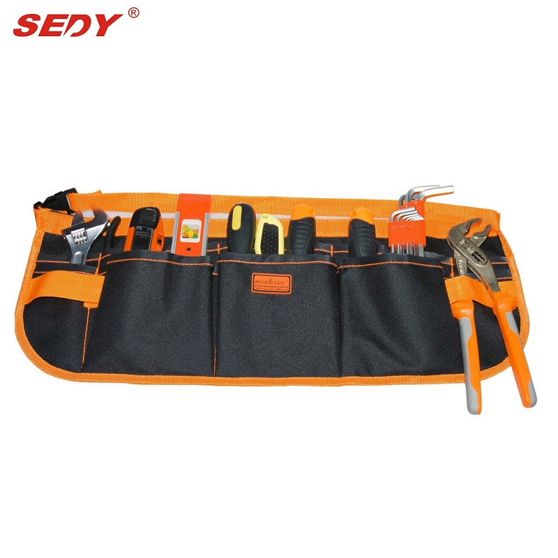 13 Bolsillo Multifunción Bolsa duradera Bolsas para herramientas de construcción Bolsa multifuncional para herramientas de electricista Carpenter Tool Belt kit Bolsa