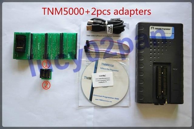 TNM5000 USB العالمي IC مبرمج TSOP56 + 520S2 200 مجموعة محولات المقبس ، nand فلاش مبرمج ، 96MHz على مدار الساعة ، برمجة متعددة