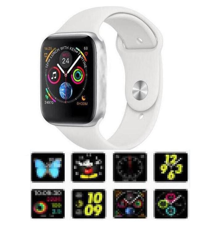<font><b>IWO</b></font> 8 plus Smart watch 44mm Series 4 case <font><b>1</b></font>:<font><b>1</b></font> Bluetooth Smartwatch Ecg watches for ios android fast free ship for dropshipping image