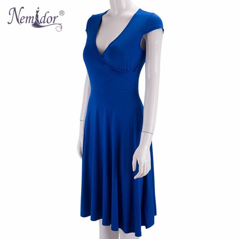 Однотонное летнее платье алиэкспресс