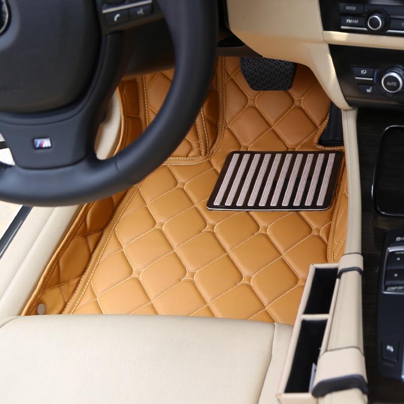 Full Cover Waterproof Carpets Custom left Hand Drive LHD Car Floor Mats For Jaguar XEL XFL XE XF XJ XJL F-PACE F-TYPE XK X-TYPE 3d full covered waterproof boot carpets durable custom car trunk mats for 2012 2018 year jaguar xfl xel xjl f pace xf xj
