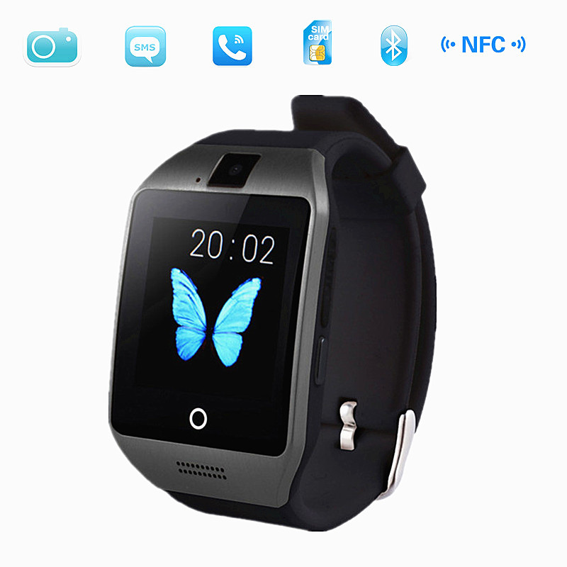 2015 New Bluetooth Smart Watch Waterproof Apro font b Smartwatch b font Support NFC SIM Card