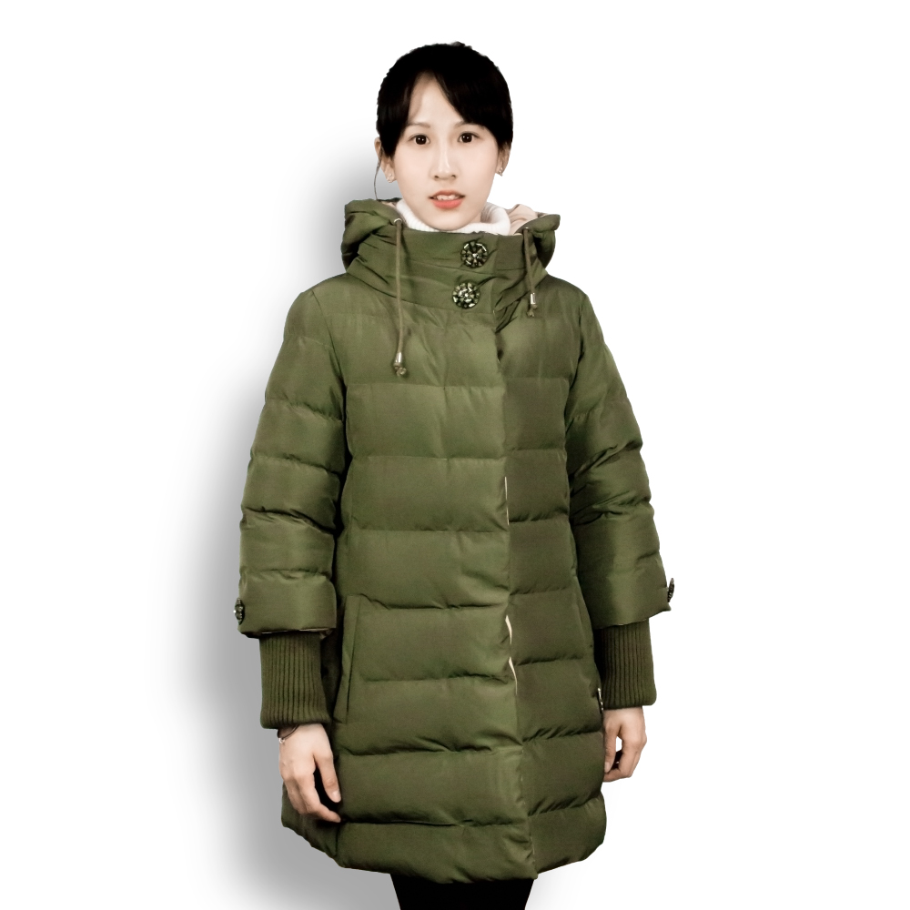 Stylish Pregnant Women Winter Jacket Maternity Thickening Winter Coat Hooded Cotton Coat Woman Parkas for Postpartum Care women winter coat leisure big yards hooded fur collar jacket thick warm cotton parkas new style female students overcoat ok238