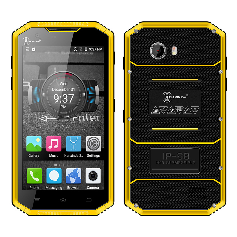 Kenxinda W7 IP68 waterproof smartphone Android 5 1 dual SIM dual camera 4G LTE Quad core