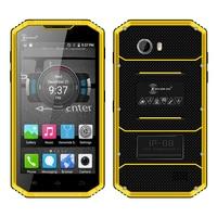 Kenxinda W7 IP68 waterproof smartphone Android 5.1 dual SIM dual camera 4G LTE Quad core 1GB + 16GB rugged mobile phone P016