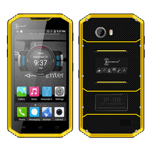 Kenxinda W7 IP68 waterproof smartphone Android 5.1 dual SIM dual camera 4G LTE Quad core 1GB + 16GB rugged mobile phone P016