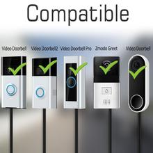UK zasilacz Adapter do pierścienia wideodomofon Pro na pierścionek wideodomofon na pierścionek wideodomofon 2 dla gniazdo witam kabel 6 M tanie tanio Supply Adapter for Ring Nie Bezpieczny Brak KKMOON