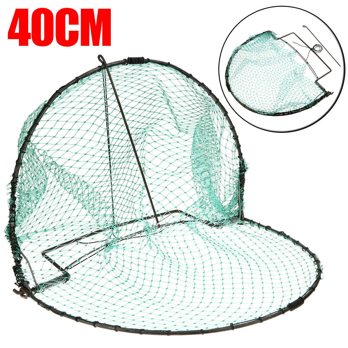 Bird Sparrow Pigeon Quail Trap Mesh Outdoor Hunting Foldable Netting  Corrosion Resistance 40cm