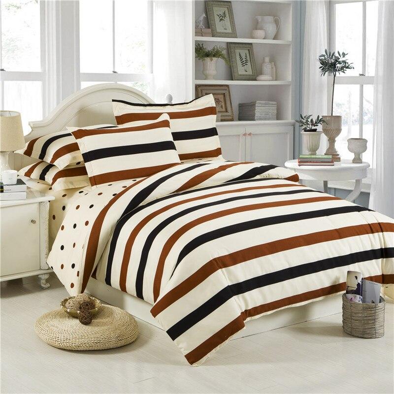 ᓂPrecio al por mayor cama de algodón rayas/Flores/cuadros estilo