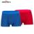 Seven7 marca boxeadores de los hombres de alta elasticidad de algodón 2 pack cintura expuesta boxeadores sexy tradición china imprimir men underwear 109g40110