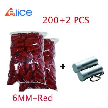 (200+2)PCS+ free shipping , Anti-theft Diameter 4-5MM- Red Security Euro slot stop lock+bullet unlock For shop Exhibit display