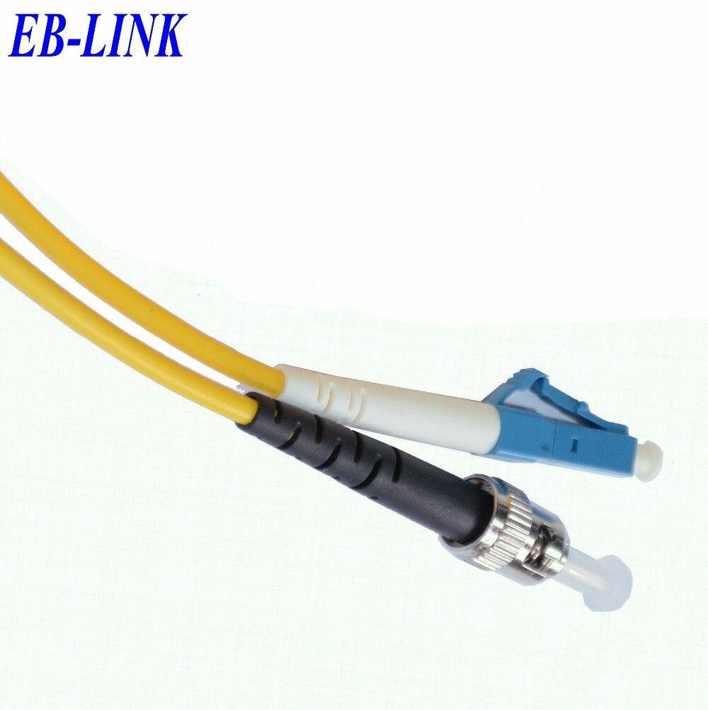 15 м LC / PC-ST / pc, 3.0 мм, Одномодовый 9/125, Симплекс, Оптический кабель, Sm58-lc ст