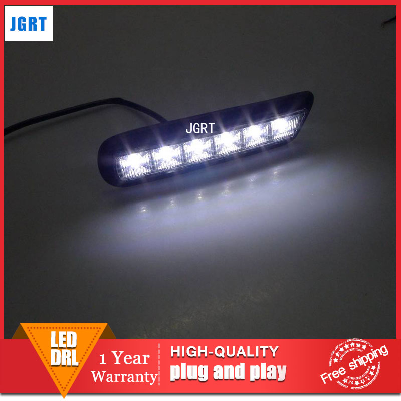 car styling 2010-2012 For Mitsubishi ASX LED DRL For ASX led fog lamps daytime running light High brightness guide LED DRL car styling for mazda cx 5 led drl for mazda cx 5 led fog lamps daytime running light high brightness guide led drl