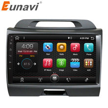 Eunavi 2 din Android 7.1 car radio for KIA sportage 2011 2012 2013 2014 2015 car pc head unit with gps navigation stereo wifi