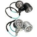 A Pair 10W 12V Motorcycle Bullet Turn Signal Lights Lamp for Harley/Kawasaki/Honda