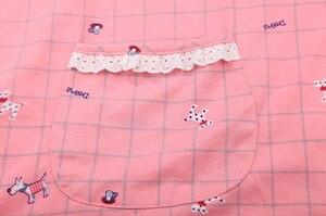 Image 3 - Plus größe 100% baumwolle kurze pyjamas sätze frauen sleeveless XXXXXL 130KG sommer pijama nachtwäsche nette cartoon rosa frauen pyjamas