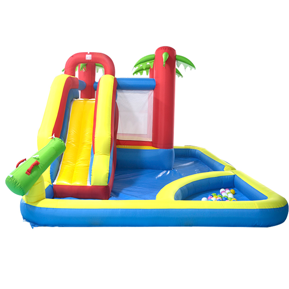 YARD Inflatable Castle Bouncer Games for Kids Combo Jumping Trampoline Bouncy Castle Christmas Gift Ship Express Door To Door