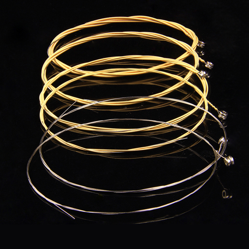 Acoustic Guitar Strings set 010 A60xl Musical Instruments Accessories Metal Acoustic Wou ...