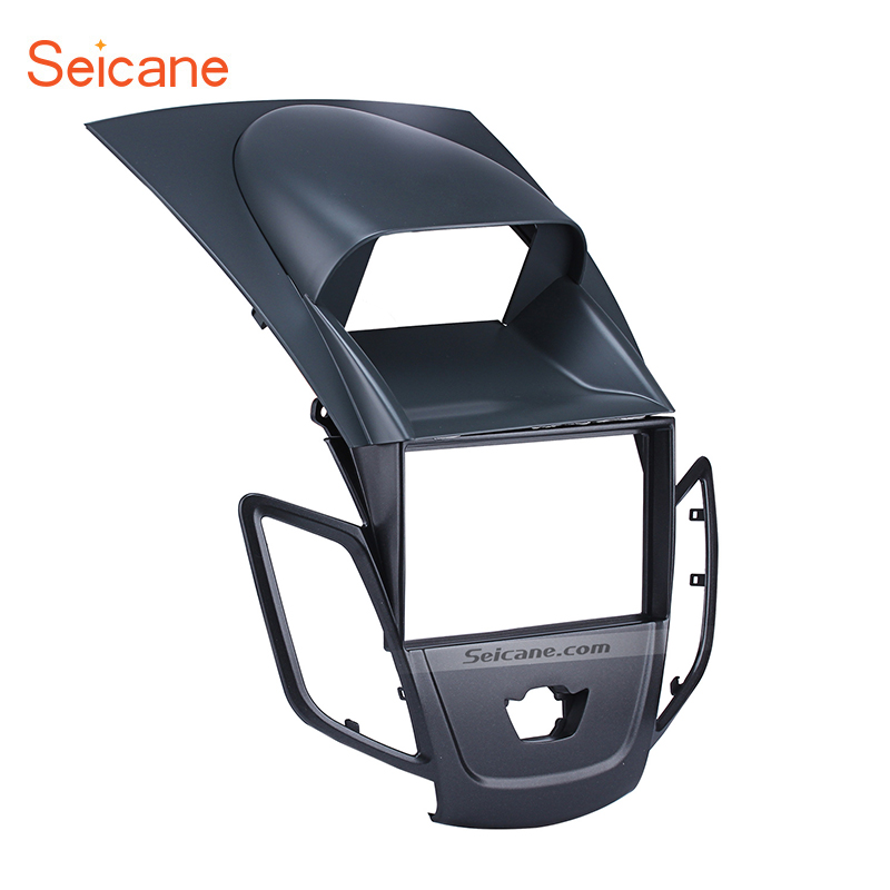 Seicane Double Din Car Radio Fascia Refitting DVD Frame Dash Mount CD Trim Kit For 2008 2009 2010 2011 Ford Fiesta 40cm 50cm 60cm ultra thin usb flat ribbon cable type c straight to male micro down angle line connector