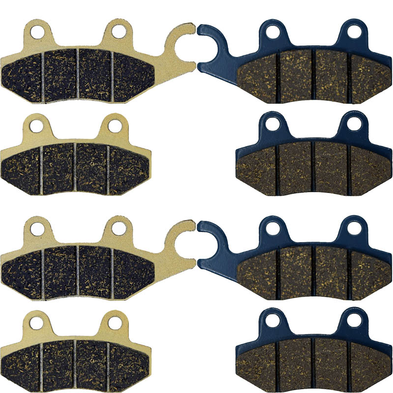 US $7 31 14% OFF|For HISUN HS 750 800 HS750 HS800 Crew 2015 2016 450 550  750 1000 Sector 2015 2016 Motorcycle Brake Pads Front Right (R+L)-in Brake