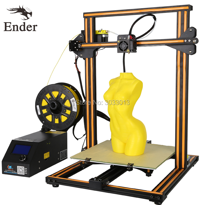 3D Printer CR-10s/CR-10 DIY KIT Printer 3D prusa i3 Large Print size 300*300*400mm printer 200g filament+8G+Hotbed CREALITY 3D