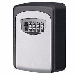 Keybox zamek na klucz sejf na zewnątrz ścienny kombinacja blokada ukryte przechowywanie kluczy Box sejfy bezpieczeństwa dla Home Office