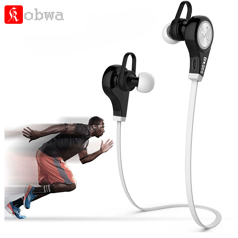Kobwa Bluetooth earphone Sport Stereo Wireless headphones with microphone for iphone xaomi android smartpbone wireless headphones bluetooth earphone with mic microphone bluetooth 4 1 headset sport headphones for iphone android xiaomi