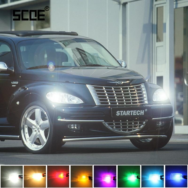 For Chrysler Neon MK 2, PT Cruiser, Sebring SCOE Super Bright Front Parking Front Side Marker Light Bulb Lamp Car Styling