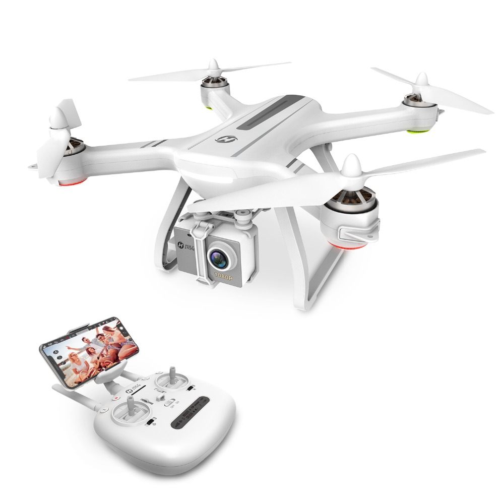 USA Lager Heiligen Stein HS700 1000 meter Flug Palette Bürstenlosen Motor 5G 1080P FHD WIFI FPV GPS Drone 400M FPV GPS RC Hubschrauber-in RC-Hubschrauber aus Spielzeug und Hobbys bei  Gruppe 1