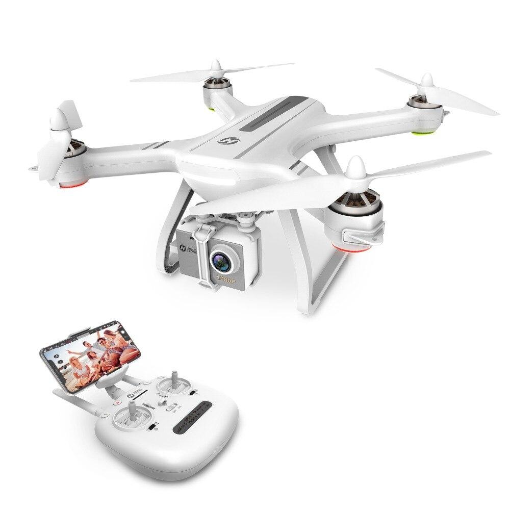 USA Stock sainte pierre HS700 1000 mètres gamme de vol sans balai moteur 5G 1080P FHD WIFI FPV GPS Drone 400M FPV GPS hélicoptère RC
