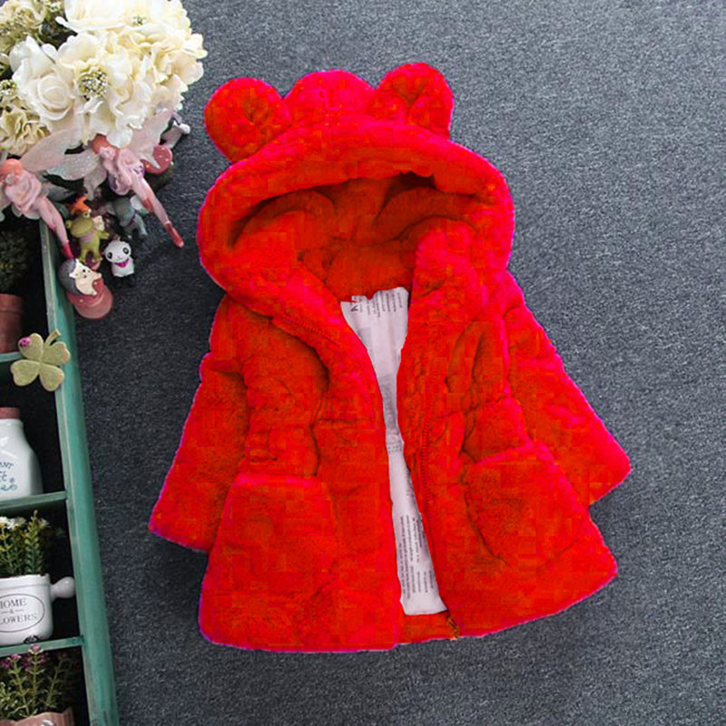 Fashion Winter Warm Thickening Kids Outwear