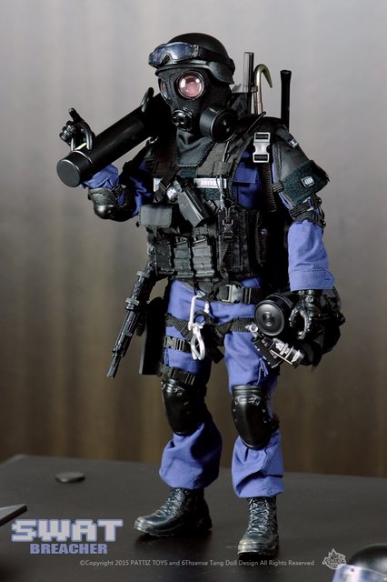 New Free Shipping  NEW Arrival  action figure soldier toys /military toys(SWAT BREACHER)