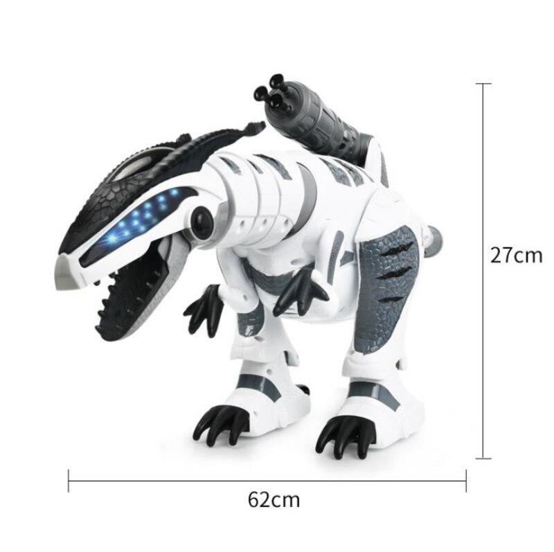 Juguete eléctrico para mascotas K 9 simulación de caminar RC Battle Animal Robot interactivo inteligente dinosaurio juguete con lanzamiento suave bala - 5