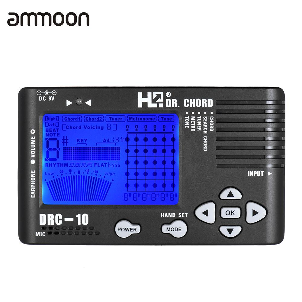4 in 1 electronic digital guitar chromatic tuner metronome tone generator chord finder built in. Black Bedroom Furniture Sets. Home Design Ideas